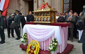 Reliquias de Santa Rosa de Lima en Tacna