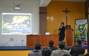 """Fórum panel """"Visión ambiental de Tacna, con enfoque de la Encíclica Laudato Sí"""""""
