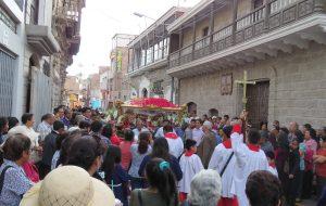 Festividad de Santa Fortunata en Moquegua 2017