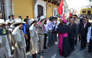 Bienvenida del Nuncio Apostólico Mons. Nicola Girasoli en Moquegua
