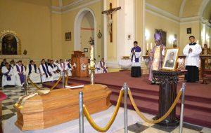 Misa en Sufragio por el alma de Mons. Hugo Garaycoa, Obispo Emérito de la Diócesis de Tacna y Moquegua en la Catedral de Tacna