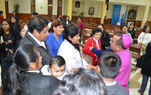 Visita Pastoral del Obispo a la Parroquia San José Misericordioso en Tacna
