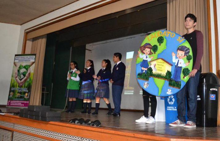 Plenaria de Colegios de Consorcio Católico sobre el Cuidado del Medio Ambiente en Tacna