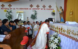 Misa y Procesión del Corpus Christi en la Capilla del Hospital Hipólito Unanue de Tacna