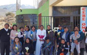 Visita Pastoral del Obispo a la Parroquia San Lino de Omate – Moquegua
