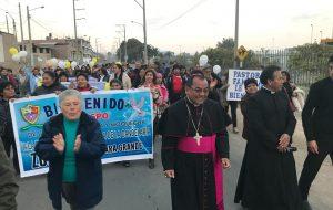 Visita Pastoral del Obispo a la Parroquia Virgen de la Candelaria en Tacna del 18 al 22 de Agosto