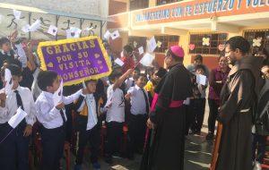 Visita Pastoral del Obispo a la Parroquia Señor de los Milagros en Tacna