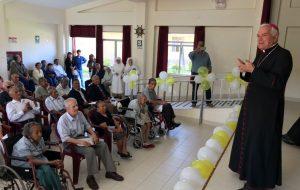 Visita del Nuncio Apostólico Mons. Nicola Girasoli al Asilo San José de Tacna