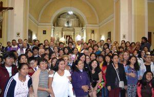 Misa por la Visita Pastoral del Nuncio Apostólico, Mons. Nicola Girasoli en la Catedral de Tacna