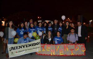 Bienvenida del Nuncio Apostólico Mons. Nicola Girasoli en Tacna