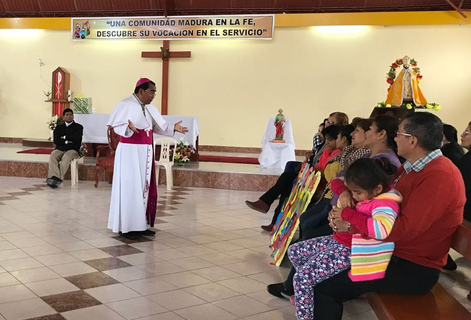 Visita Pastoral del Obispo a la Parroquia Santísima Trinidad – Ilo