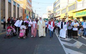 Marcha por la Vida y la Familia en Tacna