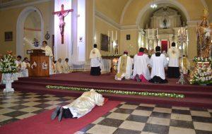 Ordenación Presbiteral del Diácono Alfredo Quispe Flores